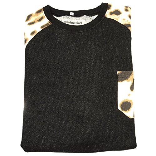 68308 felpa MULTI MINIMARKET maglia uomo sweatshirt men  XL  cb0b3770a78b