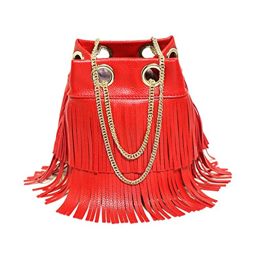 Remeehi, Borsa tote donna Red