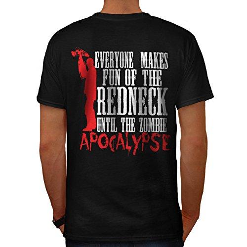 Spaß Apokalypse Zombie Kultur Herren M T-shirt Zurück | (Kostüme Indischen Der Kultur)