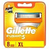 Auslaufmodell Gillette Fusion Klingen, 8 Stück