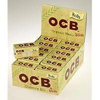 Rolls OCB Organic Hemp Canapa Biodegradabile carta di rotolamento - 1 Box 24 Scatolini