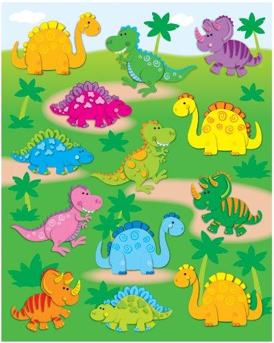 Dinosaurs (Shape Stickers (Carson-Dellosa))