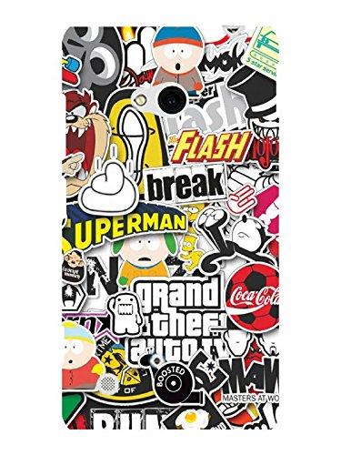 TREECASE Designer Printed Hard Back Case Cover For Nokia Lumia 720