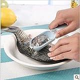 Generic Küche Werkzeug Schnell Reinigung Fisch Haut Waage Scaler Bürste Entferner Schäler, Maßstab Rasierer Fish-Scale Flugzeug Fisch Waage Flocker
