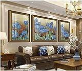 Apoart papier peint Peintures décoratives haut de gamme riche en fleurs de fleurs HD peintures 200X140cm(78.74 * 55.11in)