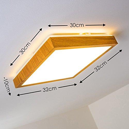 Plafoniera-a-LED-Sora-in-legno-1380-Lumen-18-Watt-3000-Kelvin-bianco-caldo-adatta-per-il-bagno