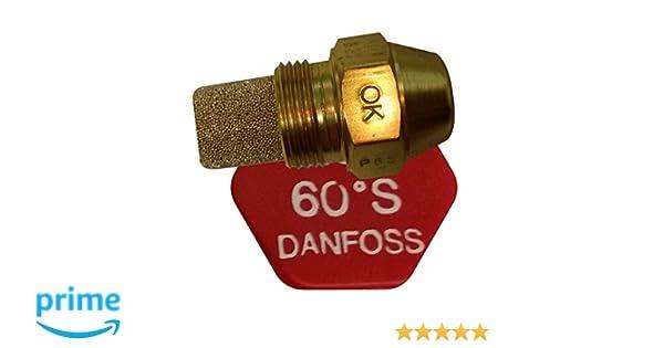 Danfoss Vollkegel-/Öld/üse Winkel 60 Grad 1,25 USgal//h 4,71 kg//h 030F6924