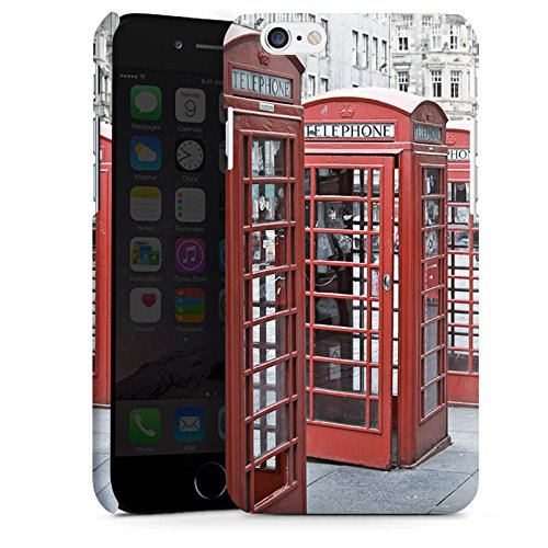 Apple iPhone X Silikon Hülle Case Schutzhülle Rote Telefonzelle England Großbritannien Premium Case matt