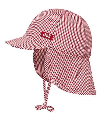 Döll 1666941 - Bonnet - Mixte bébé, Rouge (Chinese Red 2000), 55