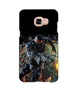 djimpex 3d DIGITAL PRINTED BACK COVER FOR SAMSUNG GALAXY C7
