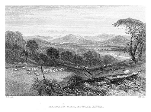 harpers-hill-hunter-river-australia-australien-steel-engraving-stahlstich