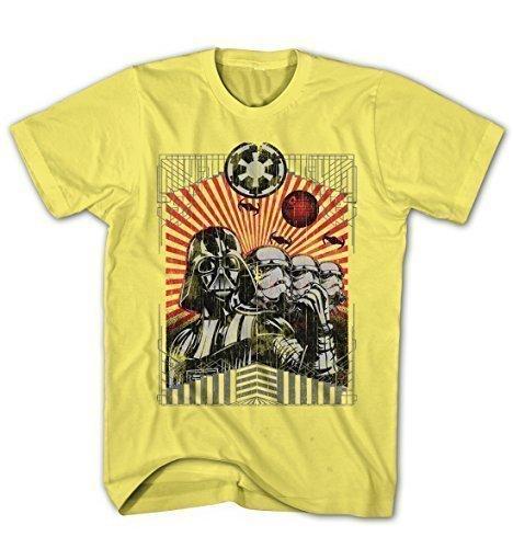 t-shirt-dhomme-darth-vader-stormtroopers-the-dark-side-star-wars-movie-film-jaune-xxl