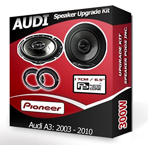 Audi /Étag/ère arri/ère A4/Orateurs FLI Haut-parleurs de Voiture Adaptateur pour Haut-Parleur gousses 210/W