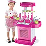 Kitchen Appliance Oven Cooking Playset Custome DIY Toy Child Pretend Kitchen Toys Multifunctional Children Play Toy Large Kit