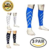 LJ Sport Paire de bas de compression manches jambe Calf Jogging Compression Sleeve - Best Reviews Guide