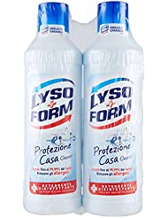 Lysoform Detergente Disinfettante Classico Pavimenti - Pacco da 2 x 1000 ml