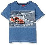 s.Oliver Jungen T-Shirt 63.707.32.7092, Blau (Dark Blue 5792), 116 (Herstellergröße: 116/122)