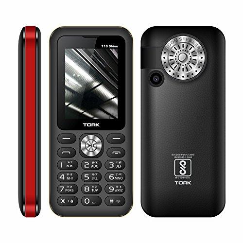 TORK MOBILE T19 SHINE 3 SIM Made In India 2.4 Display + 2800 MAh Battery +TALKING KEYPAD +Big Speaker +Digital Camera + Auto Call Recording + Wireless FM +Mobile Tracker + GPRS + WAP + Vibration +500 Contacts Phonebook +16 Led Torch + 3 Sim + BT + 100 DAY