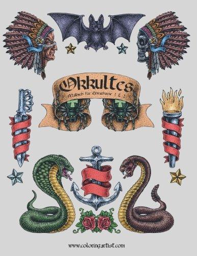 Okkultes Malbuch für Erwachsene 1 & 2