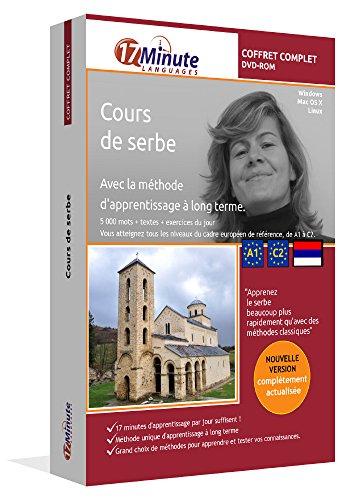 Cours de serbe : coffret complet (A1-C2). Logiciel pour Windows et Linux. Apprendre le serbe avec la méthode unique d'apprentissage à long terme