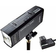 Godox AD200 TTL 2.4 G HSS 1/8000s Pocket Flash Light Double Head 200 WS with 2900 mAh Lithium Battery Strobe Flash