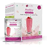 Bliss Welness Meal Replacement Flavor Nutritional Shake Mix With Omega 3 6 9, MCT & Green Coffee Bean Extract,...
