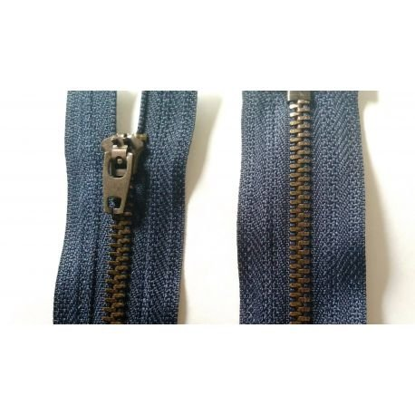 Waden-reißverschluss (Waden-Reissverschluss, Marineblau, 12 cm, Jeans Hose)