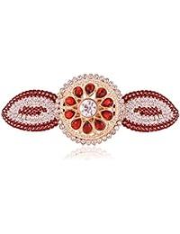 Accessher Designer Studded Back Hair Clip/ Hair Barrette/ Hair Pin Hair Accessories For Women - B074Y1XCT2