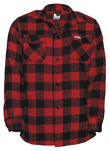 MFH Canadian Chemise pour homme Rouge/noir xl