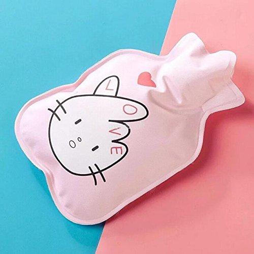 Jadebin Cute Child Winter Cartoon Mini Cute Hot Water Bottle Water Bag Hot Hand Treasure - Pink Finger Heart