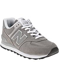 New Balance Womens WL574 Suede Mesh Trainers