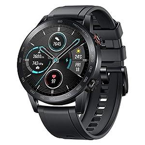 """HONOR Smartwatch Magic Watch 2, 46mm Reloj Inteligente con Pulsómetro, hasta 14 días de Batería, 5ATM Waterproof, Pantalla Táctil Amoled de 1.39"""", GPS, 15 Modos Deportivos, Llamadas Bluetooth 5"""