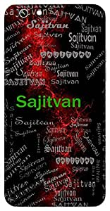 Sajitvan (Victorious Superior) Name & Sign Printed All over customize & Personalized!! Protective back cover for your Smart Phone : Samsung Galaxy S4mini / i9190