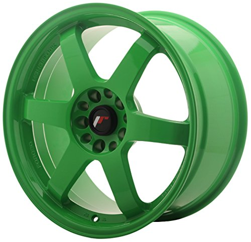 JAPAN Racing JR3 Green 8.5 x 18 eT30 5 x 114 jantes en alliage