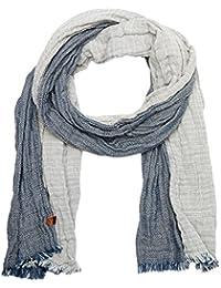 camel active Herren Schal Double-Face-Schal 100% Baumwolle Blau 407160 6V16 41
