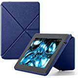 Amazon Kindle Fire HD Standing Leather Origami Case (3rd Generation - 2013 release), Blue