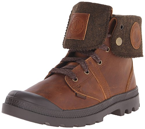 Palladium Pallabrouse Baggy Plus 2 Boots Mahogany/ Dull Gold, Schuhe Herren:45