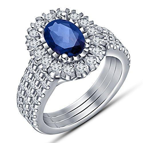 lady-3pcs-set-in-argento-sterling-925-placcato-platino-nozze-solitario-con-accenti-halo-fidanzamento