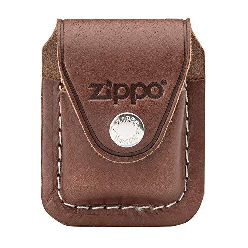 Zippo 60001218 Feuerzeug-Tasche Lighter Pouch Brown w/ Clip LPCB (Zippo-feuerzeug Aus Metall)