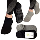 Best Yoga Socks - Yoga Socks for Women & Men—UK Size 3-8—2 Review