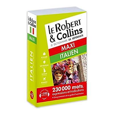 Le Robert & Collins Maxi Italien Dictionnaire: Francais-Italien / Italien-Francais