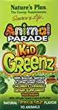 Nature's Plus, Source of Life, Animal Parade, Kid Greenz, Natural Tropical Fruit Flavour, 90 Animals