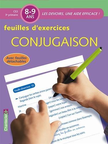 Les devoirs - Feuilles d'ex. Conjugaison (8-9 ans) par Znu