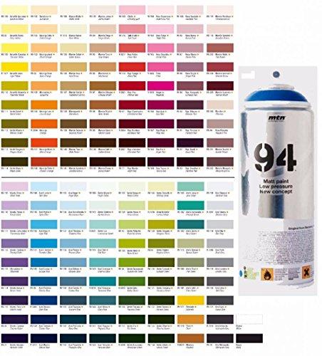 Montana MTN 94 Spain Spray Paints, 400 ml (Yellow Mango)