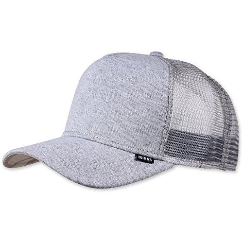DJINNS - Jersey Aloha (grey) - Trucker Cap Meshcap Hat Kappe Mütze Caps (Co-baseball-jersey)