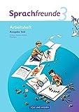Sprachfreunde - Bisherige Ausgabe Süd (Sachsen, Sachsen-Anhalt, Thüringen): 3. Schuljahr - Arbeitsheft