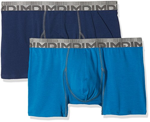 Dim Herren Panties, 2er Pack Bleu (Bleu Organique/ Bleu Marin)