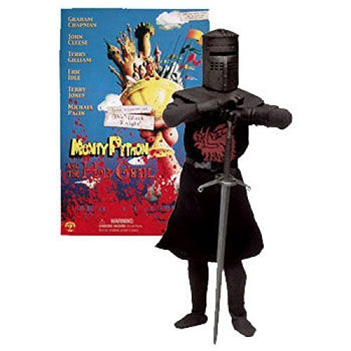 JOHN CLEESE AS THE BLACK KNIGHT 12 Inch Monty Python and the Holy Grail 2002 Sideshow Toy Collectible Action Figure by Sideshow Toys