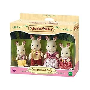 Sylvanian Families 4150 Chocolate Rabbit Family, Mehrfarbig