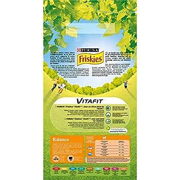 Friskies Chien Balance : au Poulet et Légumes Ajoutés 4 kg Croquettes pour Chien Adulte - Pack de 4